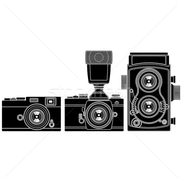 Old Cameras Stock photo © tshooter