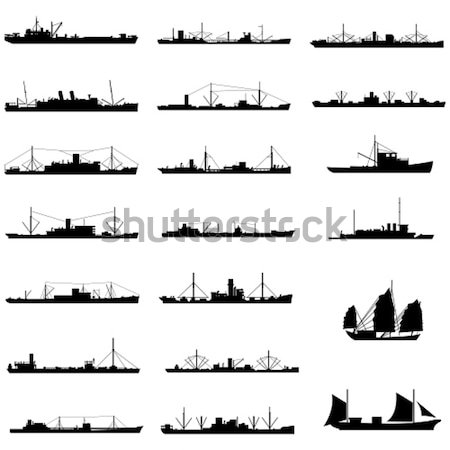 Warships Stock photo © tshooter