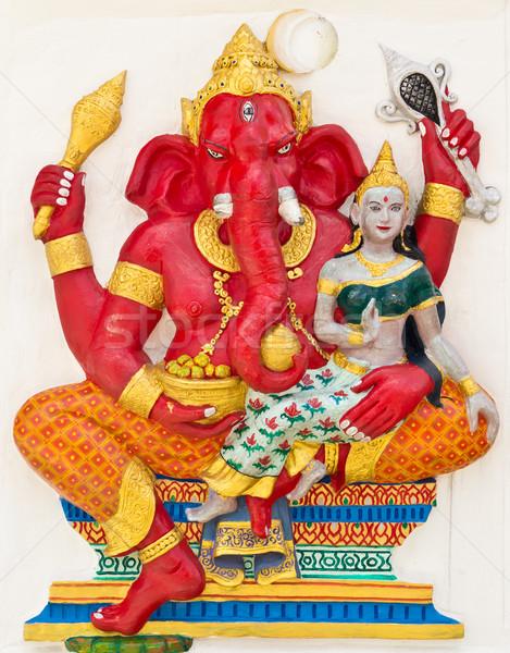 Indian or Hindu God Named Vara Ganapati Stock photo © tungphoto