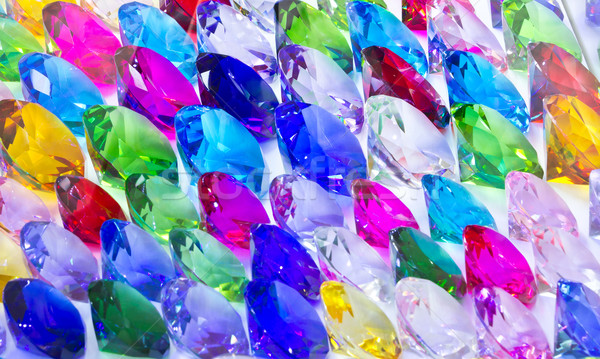 multi color big gems Stock photo © tungphoto