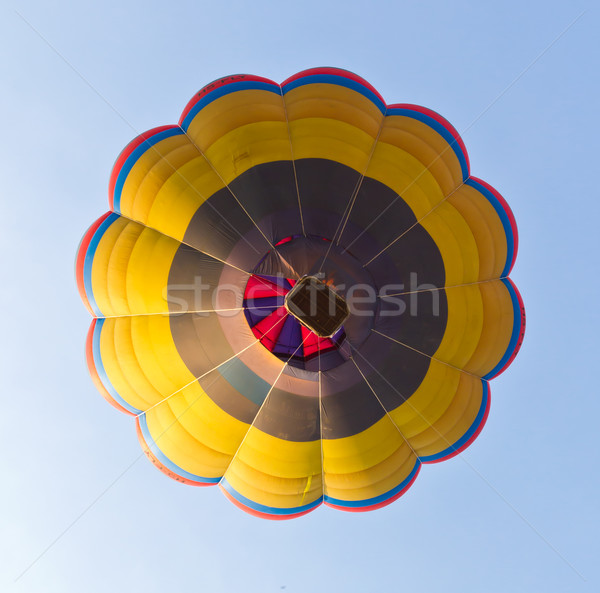 under view of hot air balloon Stock photo © tungphoto