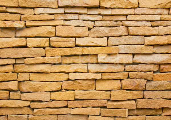 Kő textúra épület építkezés fal absztrakt Stock fotó © tungphoto
