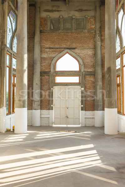 under construction of church interior Stock photo © tungphoto