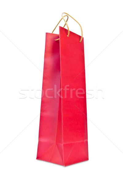 ワイン 赤 紙袋 孤立した 紙 作業 ストックフォト © tungphoto