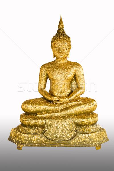 thai style buddha statue isolated Stock photo © tungphoto