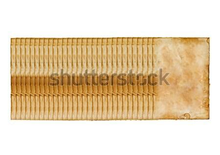 Bir seçilmiş eski bağbozumu kâğıt yalıtılmış Stok fotoğraf © tungphoto