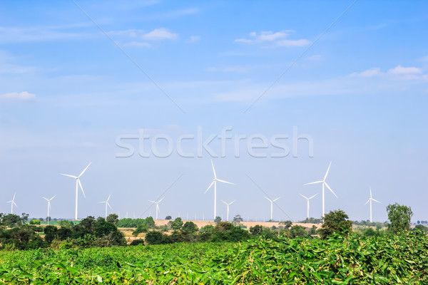 wind turbine clean energy concept Stock photo © tungphoto