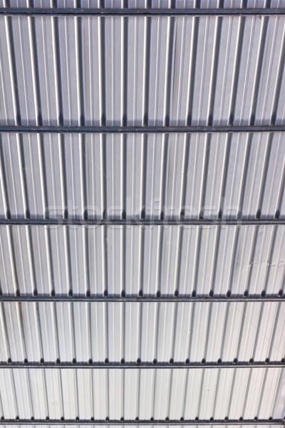 металл крыши фон промышленности промышленных стали Сток-фото © tungphoto