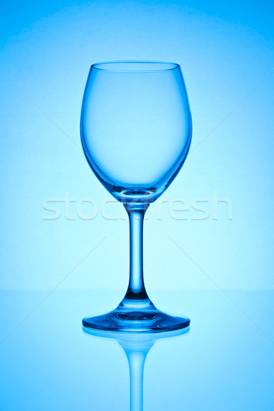 empty wine glass  Stock photo © tungphoto
