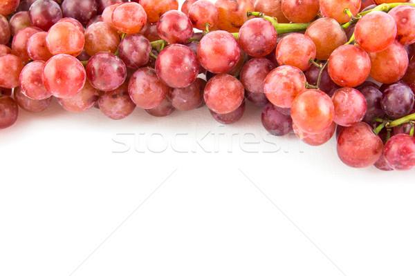 Szőlő izolált fehér étel szőlő csepp Stock fotó © tungphoto