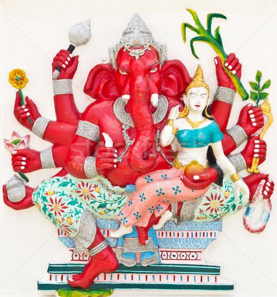 Indian or Hindu God Named Uddanda Ganapati Stock photo © tungphoto
