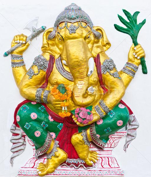 Indian or Hindu ganesha God Named Siddhi Ganapati Stock photo © tungphoto