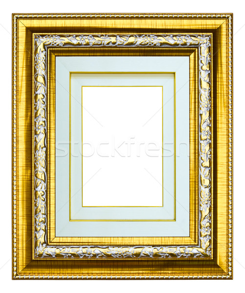 wooden photo image frame isolated Stock photo © tungphoto