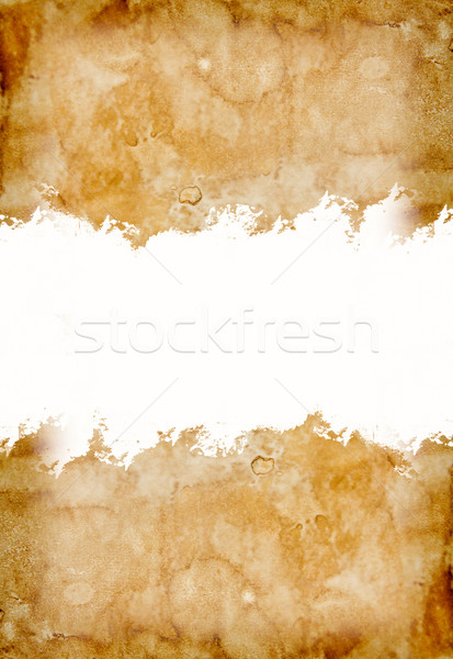 old vintage paper for background Stock photo © tungphoto