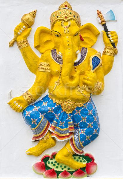 Indian or Hindu God Named Naritaya Ganapati Stock photo © tungphoto