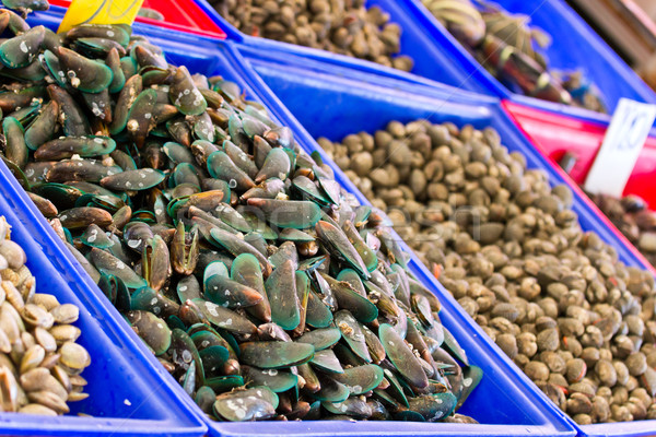 Vers markt water voedsel natuur achtergrond Stockfoto © tungphoto