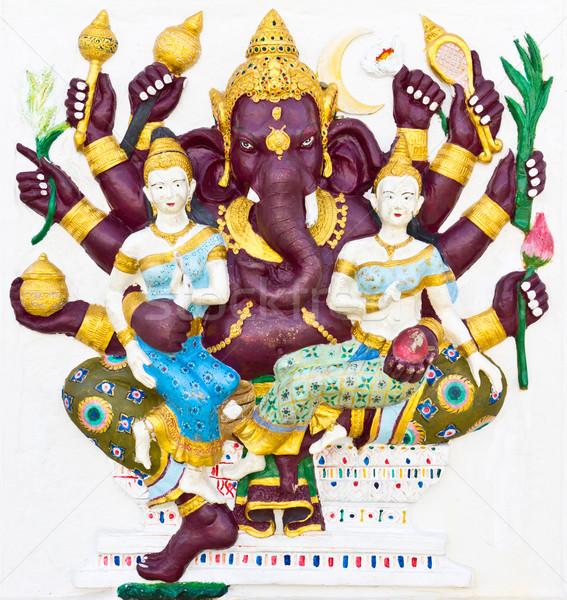 Indian or Hindu God Named Maha Ganapati Stock photo © tungphoto