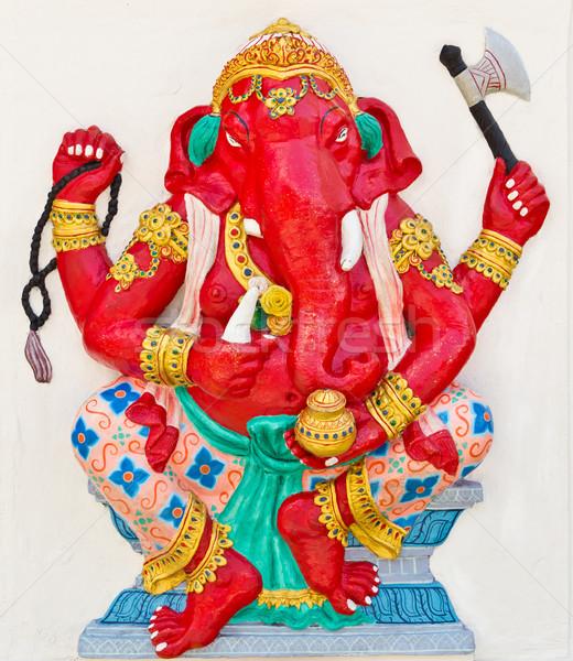 Indian or Hindu God Named Dhundhi Ganapati Stock photo © tungphoto