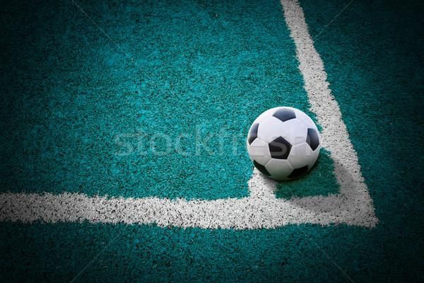 フットボールの競技場 テクスチャ 男 学校 スポーツ 自然 ストックフォト © tungphoto