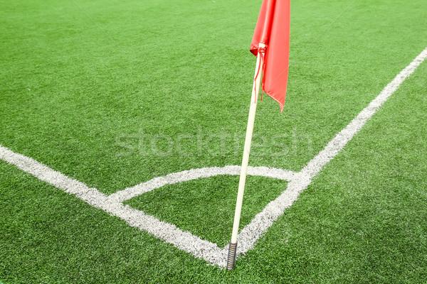 Campo de fútbol textura hombre escuela deporte naturaleza Foto stock © tungphoto