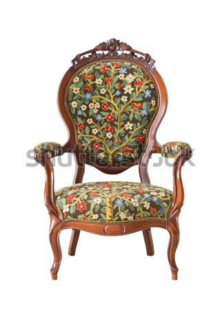 luxury armchair in white room  Stock photo © tungphoto