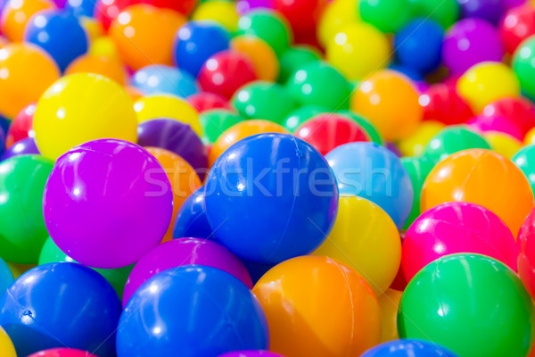 colorful ball for background Stock photo © tungphoto