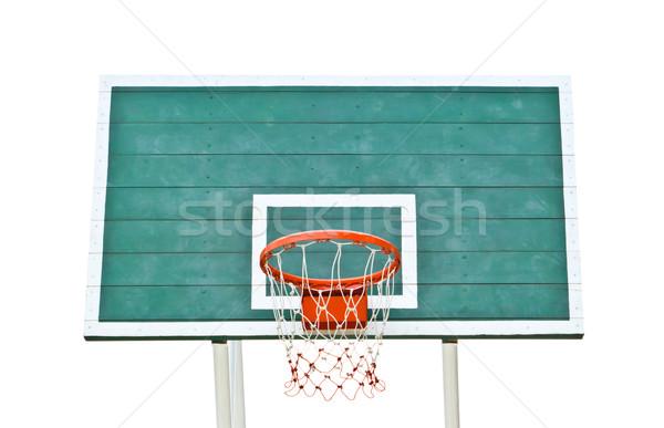 Koszykówki odizolowany biały lata przestrzeni zespołu Zdjęcia stock © tungphoto