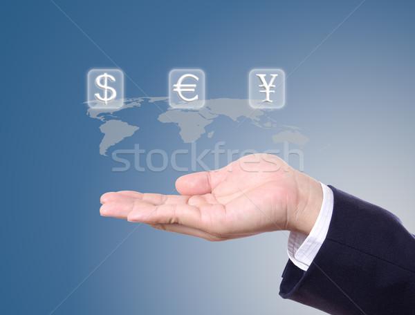 お金 にログイン ビジネスマン 手 ビジネス キー ストックフォト © tungphoto