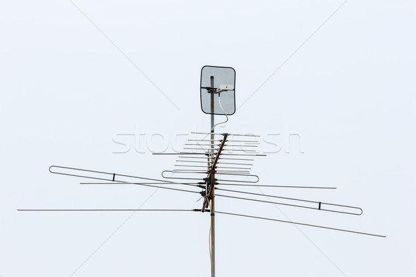 television antenna Stock photo © tungphoto