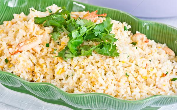 カニ コメ タイ料理 背景 油 ストックフォト © tungphoto