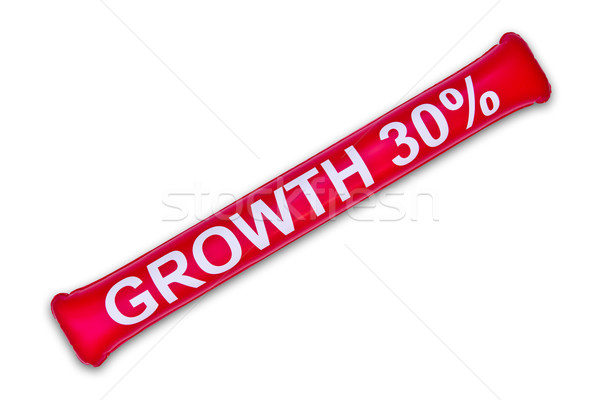 growth thirty percent on balloon Stock photo © tungphoto