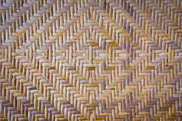texture of bamboo weave for background Stock photo © tungphoto