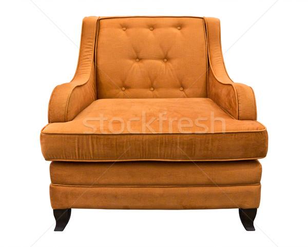 brown sofa isolated Stock photo © tungphoto