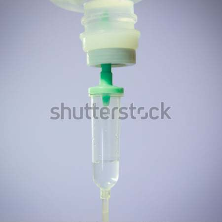 Chute solution douleur soins drogue macro Photo stock © tungphoto