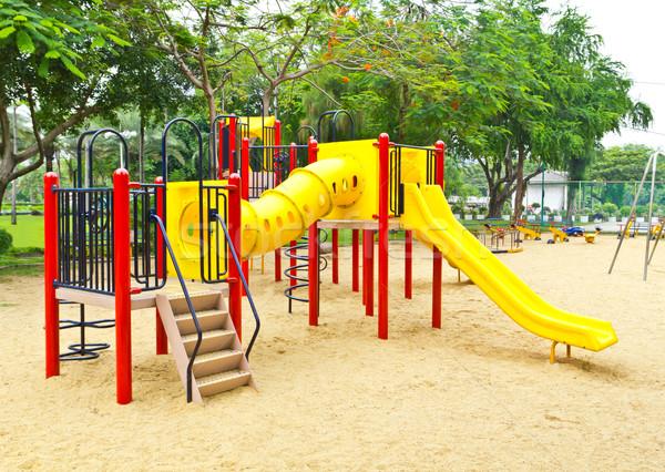 children playground in the park Stock photo © tungphoto