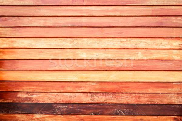 Struktura drewna budynku ściany tle ramki graffiti Zdjęcia stock © tungphoto