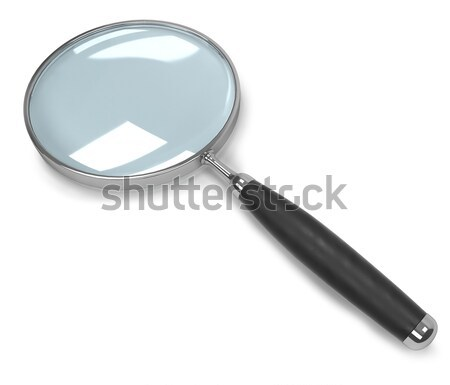 Magnifying glass isolated on white background.  Stock photo © tuulijumala