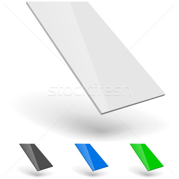 Okostelefon ui sablon izolált fehér absztrakt Stock fotó © tuulijumala