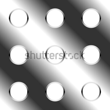 Abstract seamless perforated metal plate vector background Stock photo © tuulijumala
