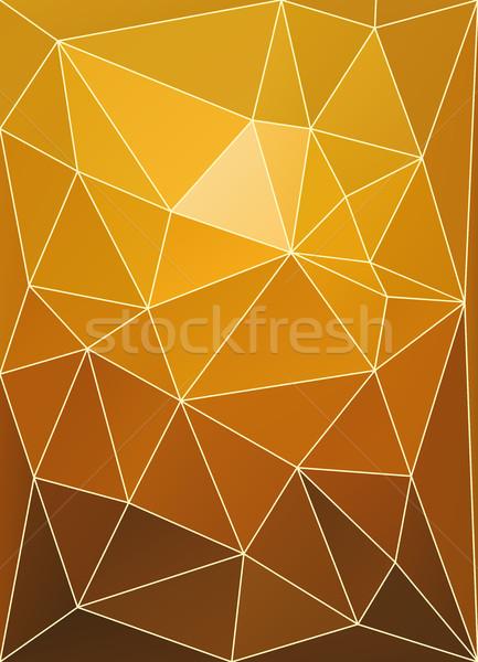 Coucher du soleil couleur patchwork résumé vecteur ciel Photo stock © tuulijumala