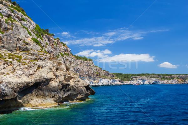 Menorca island south coast scenery, Spain. Stock photo © tuulijumala