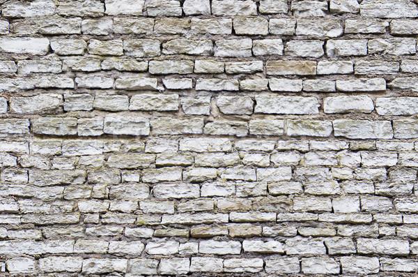 Bezszwowy średniowiecznej starych kamień kamieniarstwo tekstury Zdjęcia stock © tuulijumala