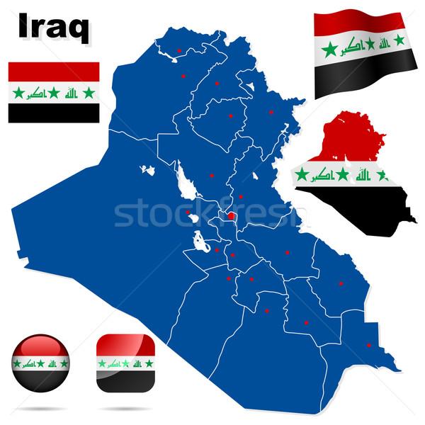 Iraq  vector set. Stock photo © tuulijumala