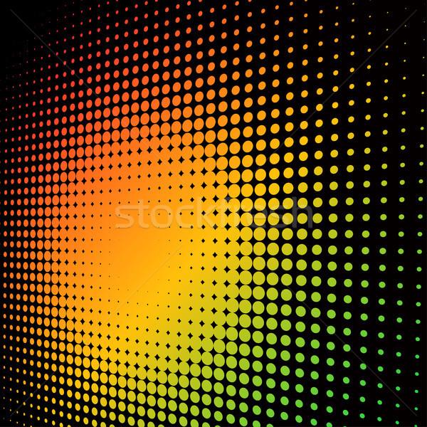Abstract colorful halftone background Stock photo © tuulijumala