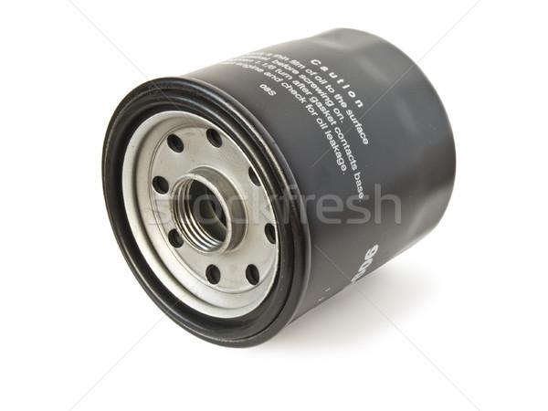 Olie filteren auto motor zwarte motor Stockfoto © tuulijumala