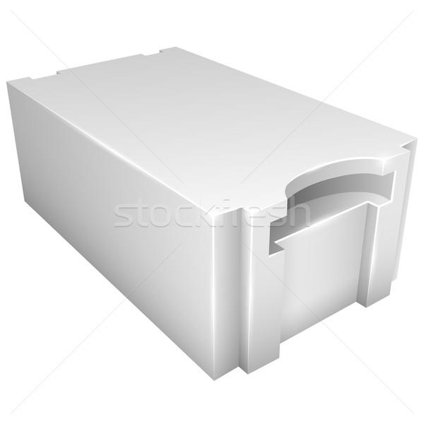 軽量 具体的な ベクトル アイコン 孤立した 白 ストックフォト © tuulijumala