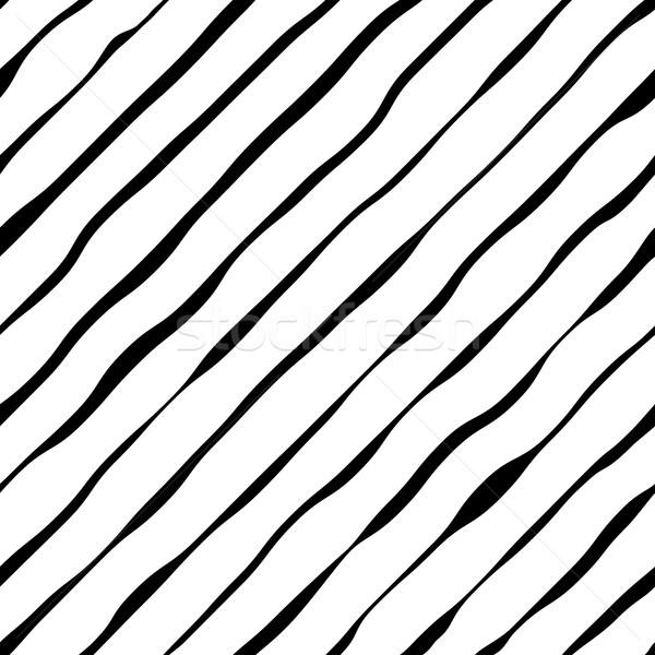 Abstract ondulato diagonale vettore design Foto d'archivio © tuulijumala