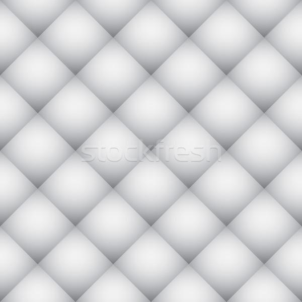 White diamond pattern soft wall vector texture. Stock photo © tuulijumala