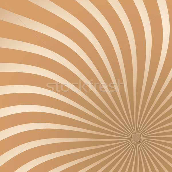 Chocolate colored radial stripes background. Stock photo © tuulijumala