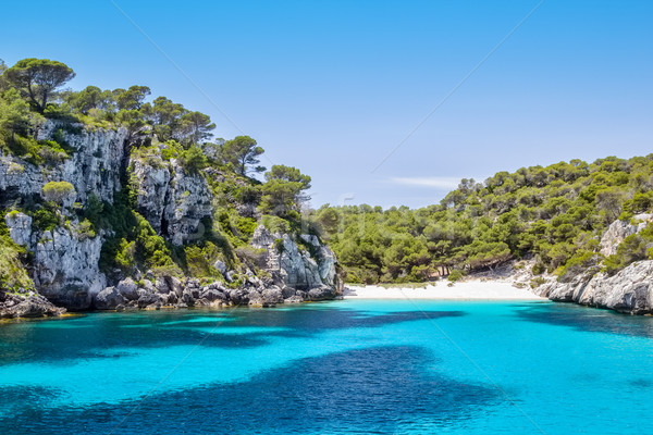 Cala Macarelleta - popular Menorca Island beach Stock photo © tuulijumala